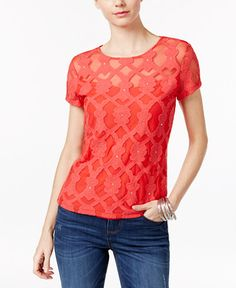 33.99$  Buy now - http://vizun.justgood.pw/vig/item.php?t=h4v4nm835306 - Embroidered Top, Only at Macy's