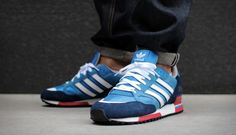 Adidas ZX750 Bluebird Dark Slate (Design You Trust. World's Most Famous Social Inspiration.)