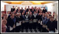 RITO    BRASILEIRO   DE MAÇONS ANTIGOS LIVRES E ACEITOS - MM.´.AA.´.LL.´.AA.´.: AA.'.RR.'.LL.'.SS.'. Venâncio Aires II e Honra e V...
