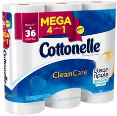 $0.75 off Cottonelle Mega Roll Toilet Paper 6pk or larger Coupon on http://hunt4freebies.com/coupons