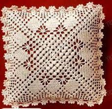 19 Ideas For Crochet Pillow Case Beautiful Crochet Pillow Cases, Crochet Cushion Cover, Crochet Pillow Pattern, Crochet Bedspread, Crochet Cushions, Crochet Chart, Filet Crochet, Irish Crochet, Crochet Motif
