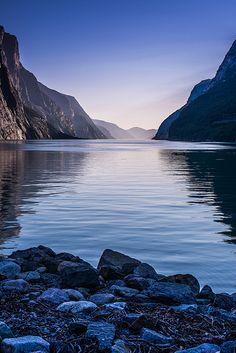 Lysefjord from Lysebotn #Norway