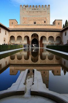 The Alhambra in Granada, Spain. I've never seen anything more impressive before.