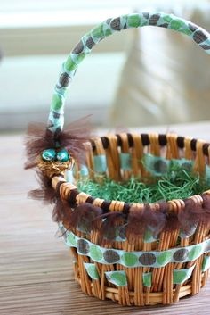 A Charming DIY Easter Basket for a Boy
