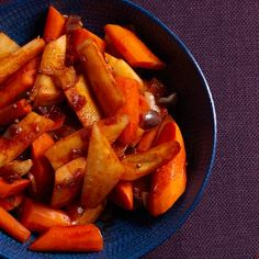 Braised Carrots and Parsnips Recipe