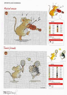 Sports & Hobbies by Margaret Sherry The Best of Margaret Sherry & CrossStitcher Issue 227 & 228