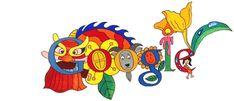 Doodle 4 Google 2015 - Winner Is From Vietnam.  Children's Day June 1, 2015.  Google Doodles