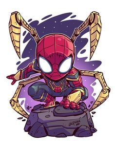 png – Young Lady Fashion The post Iron-Spider_Print_sm.png – Young Lady Fashion appeared first on Marvel Universe. Chibi Marvel, Marvel Art, Marvel Heroes, Captain Marvel, Thanos Avengers, The Avengers, Spiderman Kunst, Chibi Spiderman, Chibi Superhero