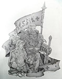 ArtStation - Knights, Alexandr (LittleDruid) Pechenkin