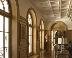 All kinds of beautiful millwork, probably best for featured areas