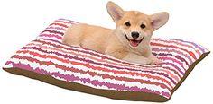 "Kess InHouse Nandita Singh ""Blush Stripes"" Pink Striped Dog Bed, 20 by 30-Inch Kess InHouse http://www.amazon.com/dp/B00LNOM19K/ref=cm_sw_r_pi_dp_asj0tb0SSYCJ40P8"