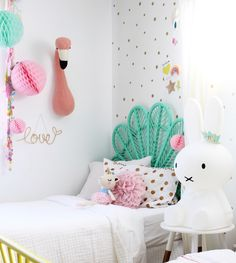 girls bedroom ideas - my kids shared bedroom, from toddler to tweens more on the blog