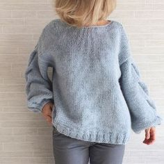 3 steps to achieve various points for women& sweaters - Crochet fabrics for . Sweater Knitting Patterns, Knitting Designs, Hand Knitting, Mohair Sweater, Cable Knit Sweaters, Angora, Knit Fashion, Knit Jacket, Crochet Clothes