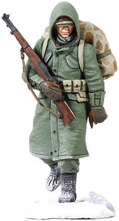 Korean War U. Marine, pin by Paolo Marzioli Marine Corps Uniforms, Us Army Uniforms, Us Marine Corps, Military Diorama, Military Art, Us Marines, Korean War, Vietnam War, Hardware