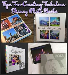Tips for Creating Fabulous Disney Photo Books (and making them fast)
