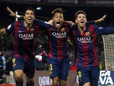 A falta de juego, los tres tenores de la delantera blaugrauna están sosteniendo al Barça en muchos tramos de Liga