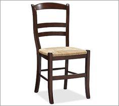 Isabella Chair at Pottery Barn in Mahogany.