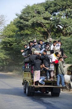 Mass transportation in Burma