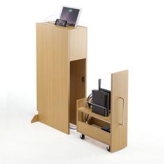 自室に乱立するルーターやNASを収納するボックス 『100-DESKS001』