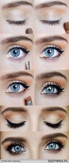 eyes, Lajner line #beauty #makeup #eyes #line