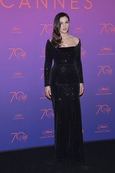 Monica Bellucci attends the Opening Gala Dinner during the 70th annual Cannes Film Festival at Palais des Festivals on May 17, 2017 in Cannes, France.