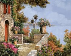 Doors Framed Prints - Silenzio Framed Print by Guido Borelli