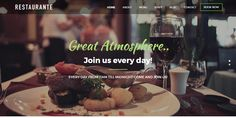 awesome 7 Free Restaurant WordPress Themes 2016