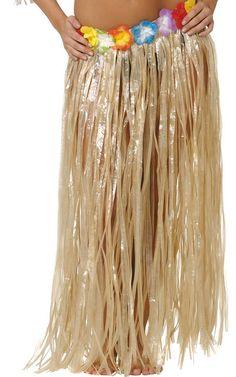 Falda hawaiana disponible en varios colores. Disfruta de las largas noches de verano con una fiesta hawaiana.