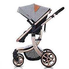 TINTON LIFE Newborn Baby Pram Infant Foldable Anti-shock High View Jogger Stroller Multi-Positon Reclining Seat Stroller Pushchair(Grey) Image 1 of 9 Pram Stroller, Baby Strollers, Umbrella Stroller, Jogging Stroller, Running Strollers, Single Stroller, My Bebe, Baby Prams, Baby Jogger