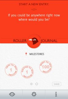 Amazing new journaling app - as fast as sending a Tweet. (Or a pin!)