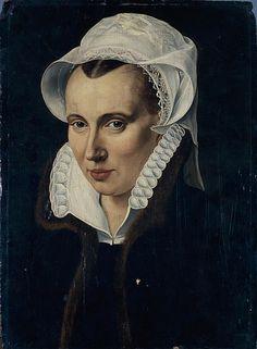 Portrait of Lady 1578 - Frans Pourbus the Elder (Flemish, 1545-1581)