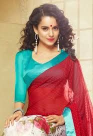 Image result for kangana ranaut in saree