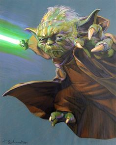 Yoda was one of the most renowned and powerful Jedi Masters in galactic history. He was known for his legendary wisdom, mastery of the Force and skills in lightsaber combat. Yoda served as a member of the Jedi High Council in the last centuries of the Galactic Republic and reigned as Grand Master of the Jedi Order before, during and after the devastating Clone Wars.
