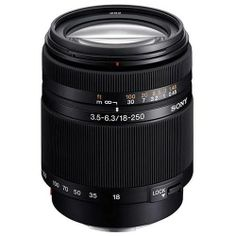 Sony DT 18-250mm f3.5-6.3 Lenses
