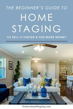 """In today's market, it's more important than ever for your home to stand out from the competition. Putting effort into how it's """"packaged"""" will create a stronger first impression, which leads to higher offers and a quicker sale. That's what home staging is all about.  As home stagers,"""