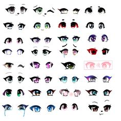 рисовать глаза