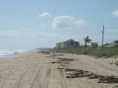 The beach at Port St. Lucie, FL. I was here on this beach!