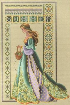 Celtic Summer.  I have the chart and the colors, I am just missing time to start this embroidery project.