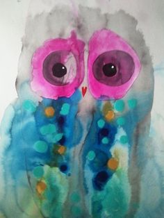 'Owl Eyes 8' by Julie Sutherland