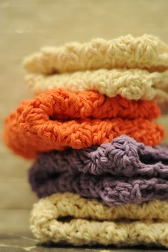 beautiful crocheted cloths