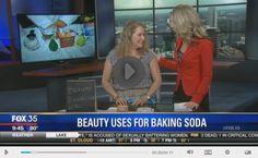 Baking soda beauty uses. #FOX35 #skintips
