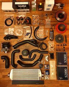 My Science of Speed turbo kit came in #s2000 #Honda #s2k #vtec #s2ki #AP2