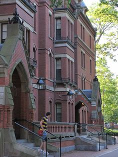 Matthews - Freshmen dorm at Harvard University in Harvard Yard