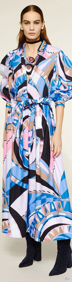 Emilio Pucci, 2 Colours, Daily Fashion, Color Mixing, Most Beautiful, Kimono Top, Fall, Fashion Trends, Collections