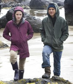 Bella and Jacob at La Push beach