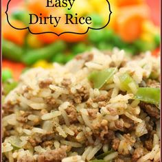 EASY DIRTY RICE @keyingredient #easy