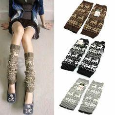 Cute Deer High Knee Socks