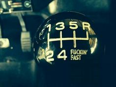 Cool shifter knob