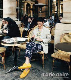 Kim Soo Hyun in Paris