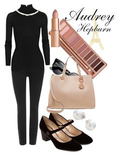 """""""Inspiration of Audrey Hepburn"""" by jjackiew on Polyvore"""